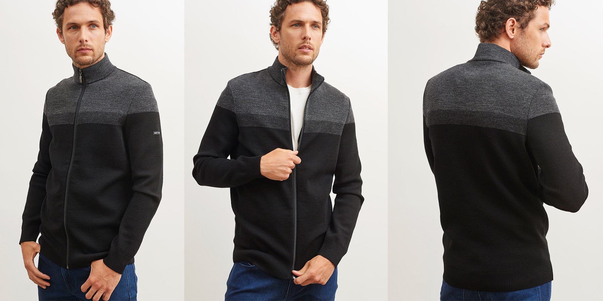 Born on the open water Bretagne Cardigan 