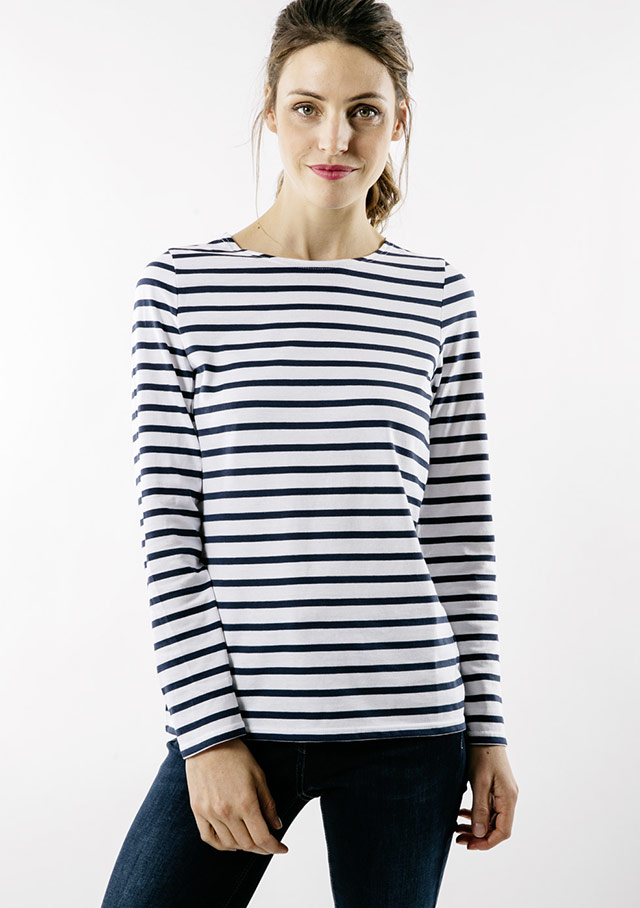 Nautical T-Shirts for women - MINQUIDAME - Saint James