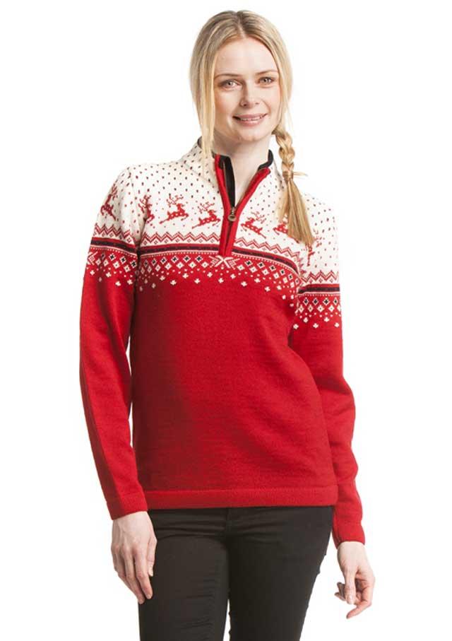 свитер женский с оленями спицами схемы и описание