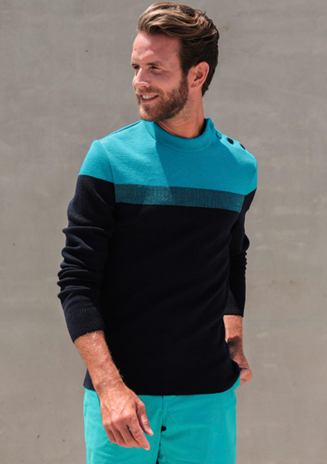 Sweater for men - BRETAGNE - Saint James