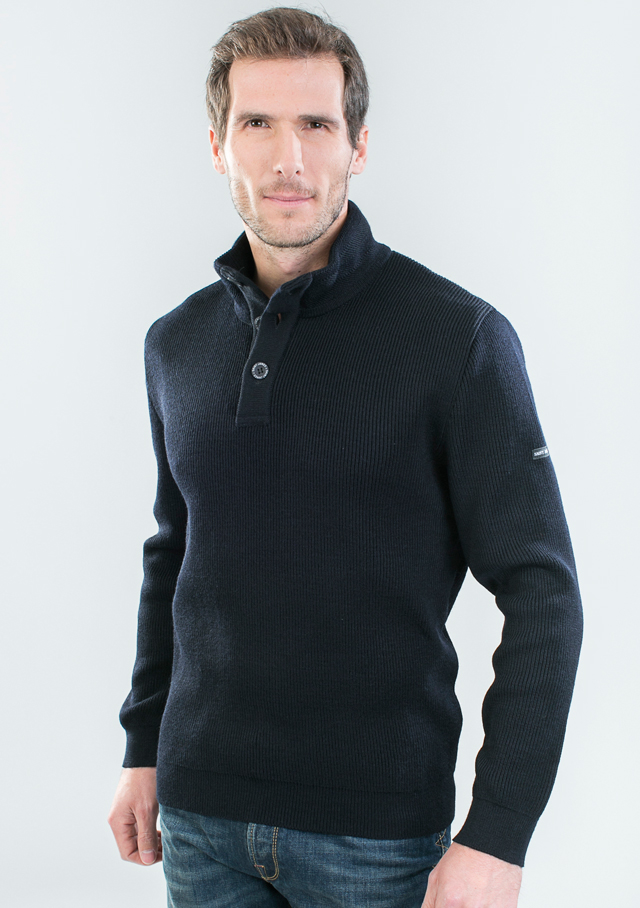 Sweater for men - BOURBOULE III - Saint James