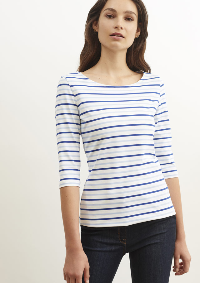 Nautical T-Shirts for women - GARDE COTE III MU - Saint James