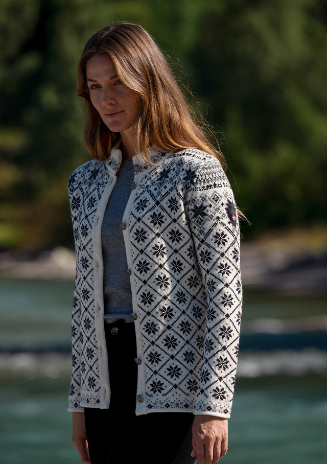 Cardigan for women - BRIMSE - Dale of Norway