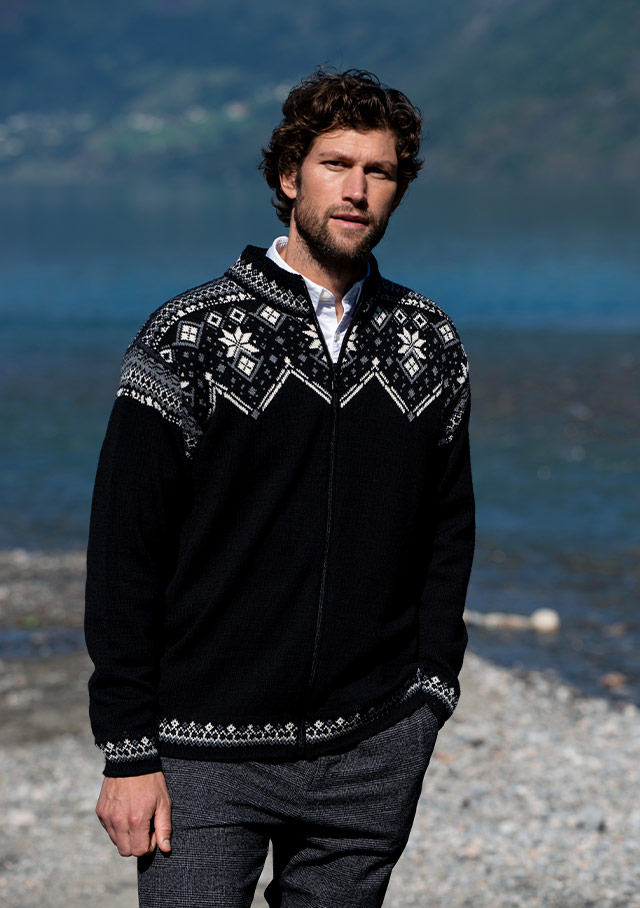 Cardigan for men - BRIMSE - Dale of Norway