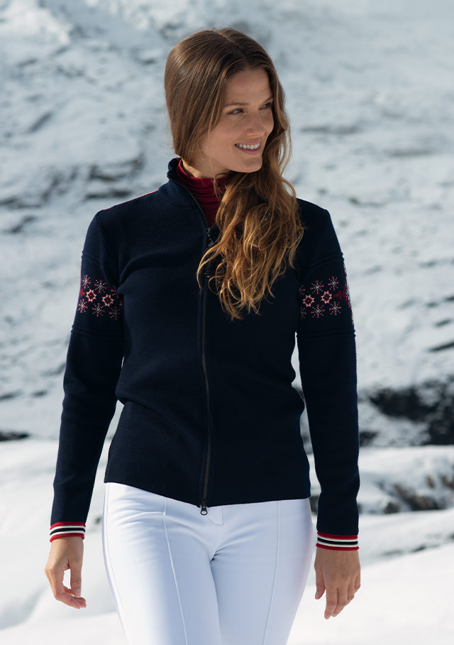 Cardigan for women - MONTE CRISTALLO - Dale of Norway