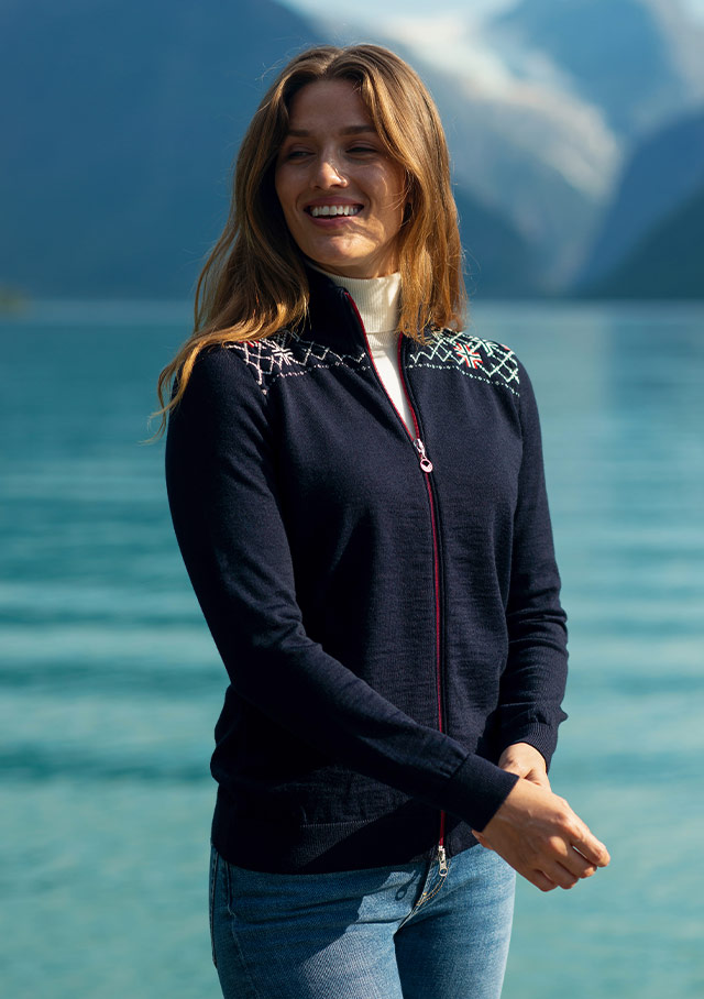 Cardigan for women - TRONDHEIM - Dale of Norway