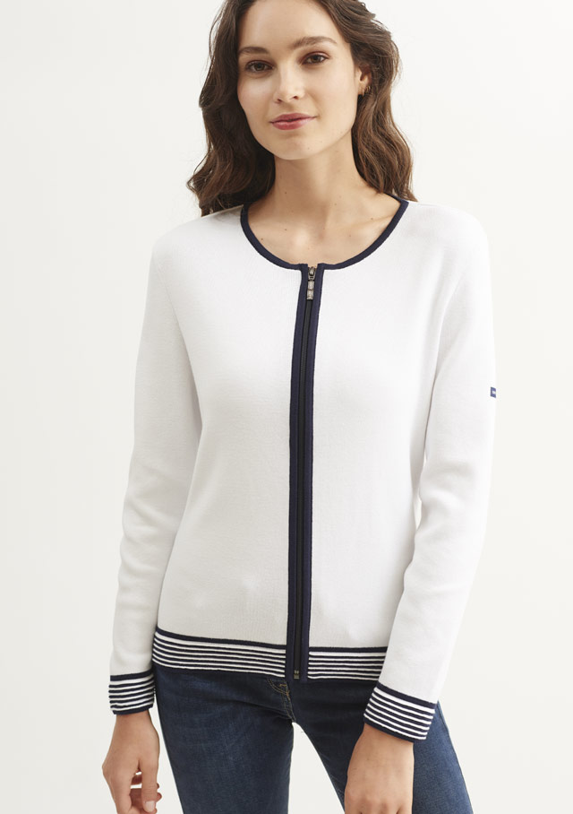 Cardigan for women - CARLOTTA - Saint James