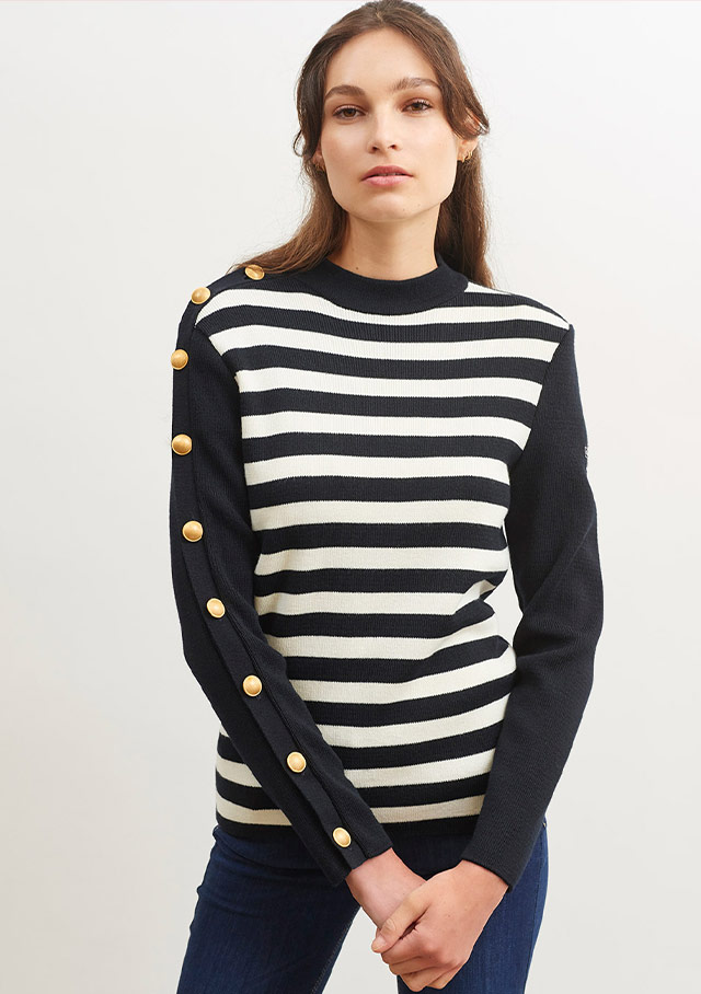 Sweater for women - AMPHITRITE R - Saint James
