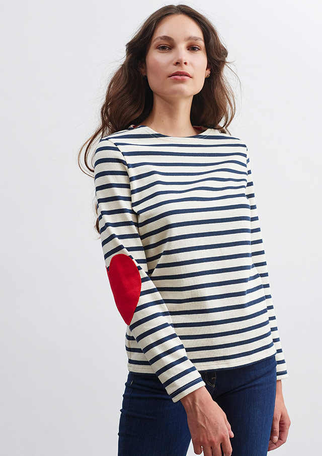Nautical T-Shirts for women - VAUJANY - Saint James