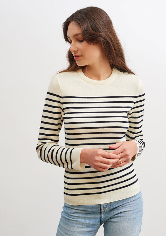 Sweater for women - MAREE II R - Saint James
