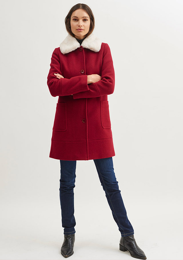 Coat for women - STE DELPHINE - Saint James