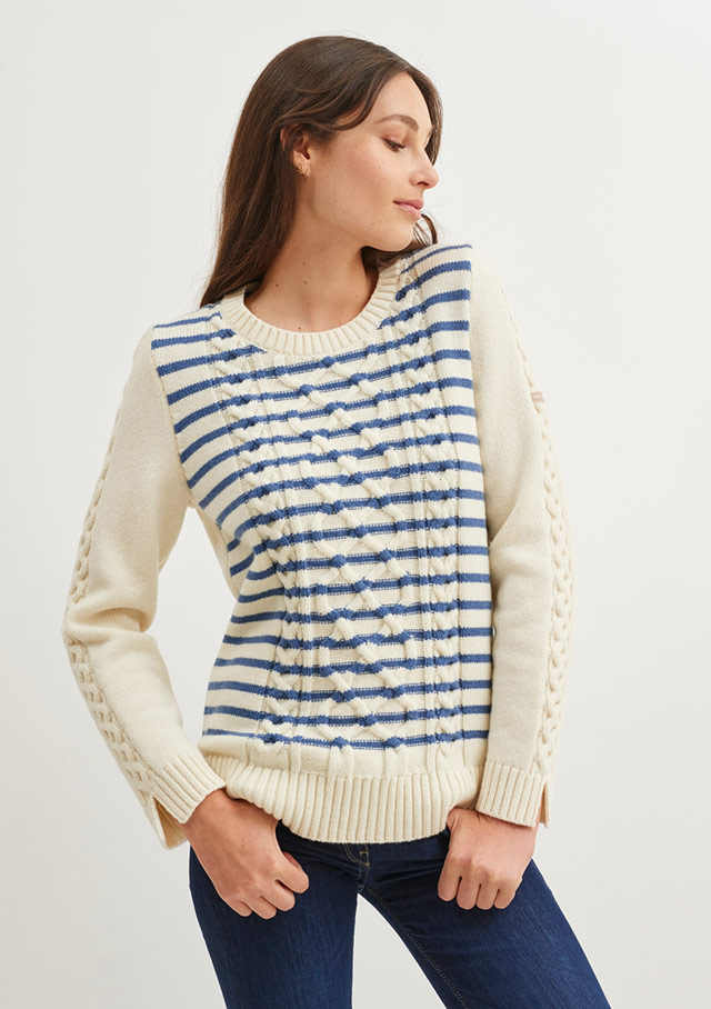 Sweater for women - MERIBEL - Saint James