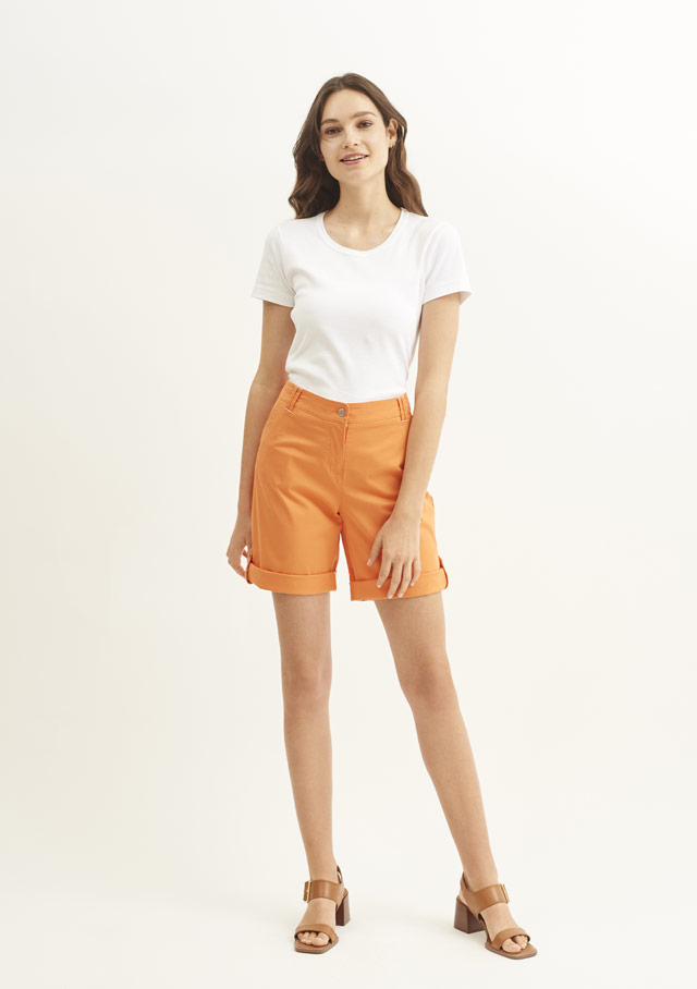Bermuda shorts for women - MARIE II - Saint James