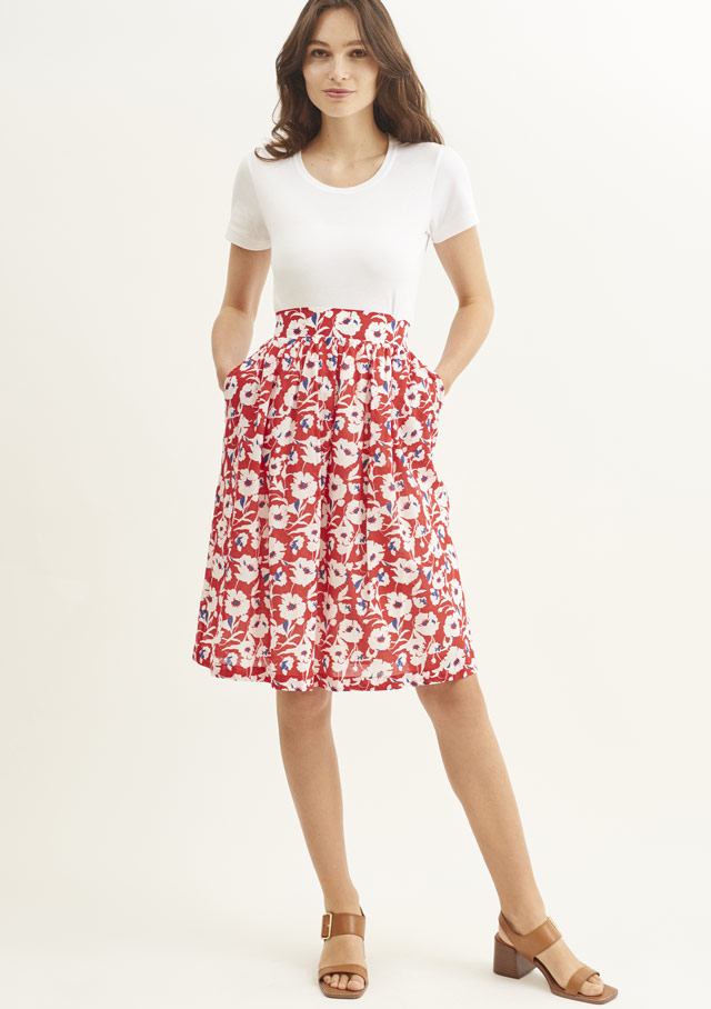 Skirt for women - OLINDA - Saint James