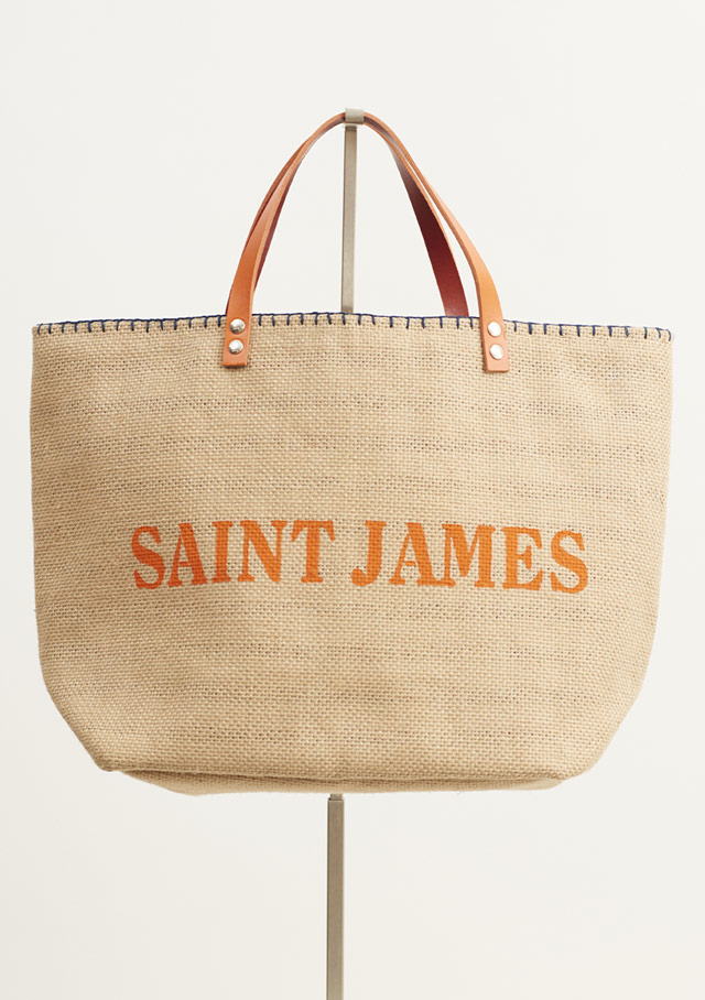 Accessories for women - SAC CABAS JUTE - Saint James