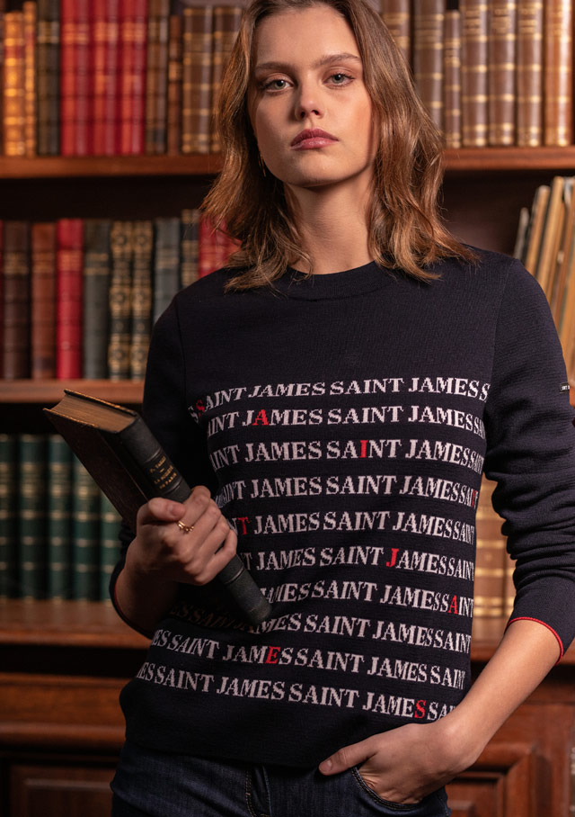 Sweater for women - MONGE - Saint James