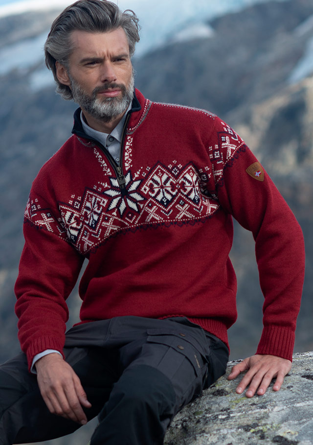 Sweater for men - GEIRANGER - Dale of Norway