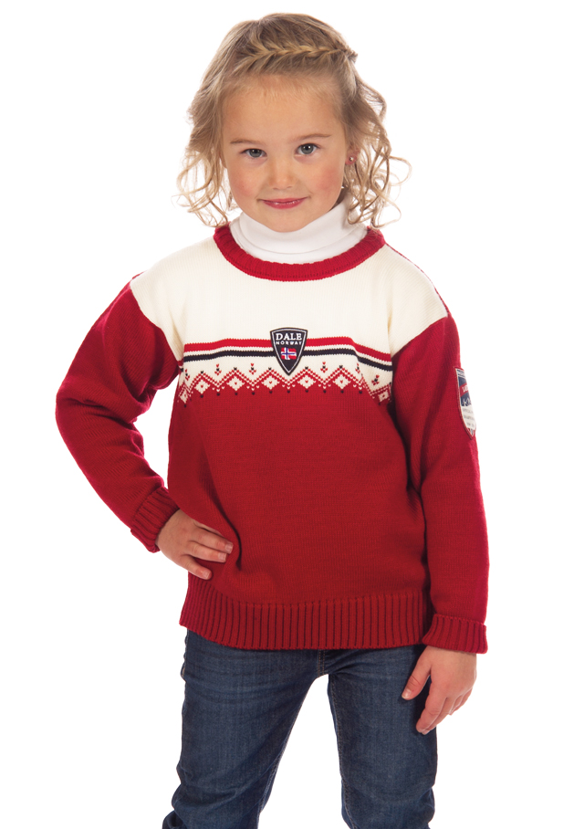 Sweater for children - LAHTI KIDS - Dale of Norway