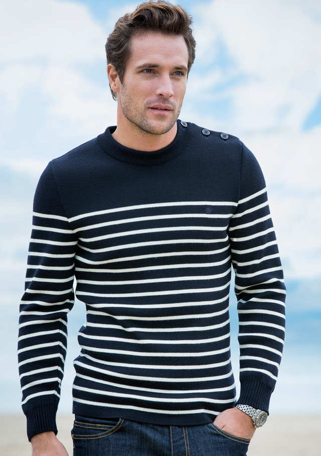 Sweater for men - GALIOTE V R - Saint James