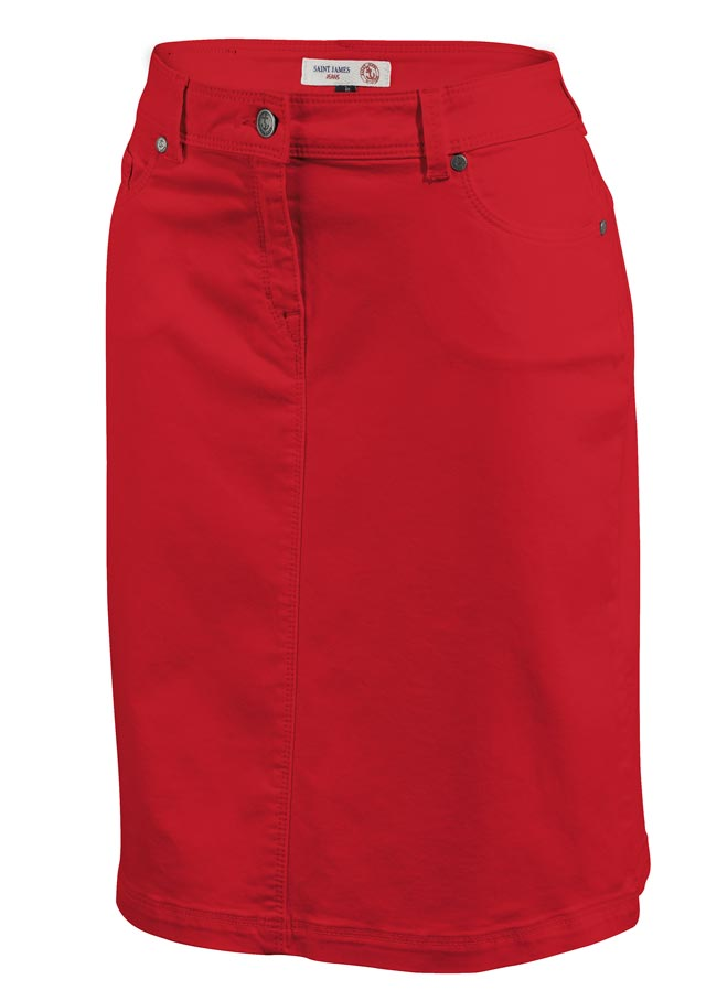 Skirt for women - ELFY COULEUR - Saint James