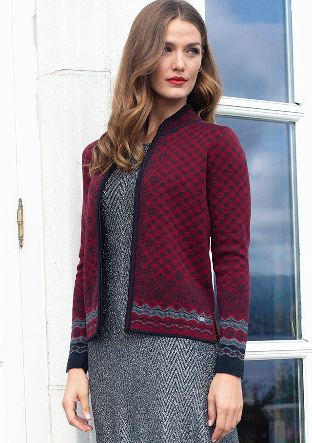 Cardigan pour femme - SOLFRID - Dale of Norway