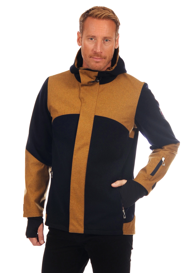 Knitshell / Coat for men - STRYN - Dale of Norway