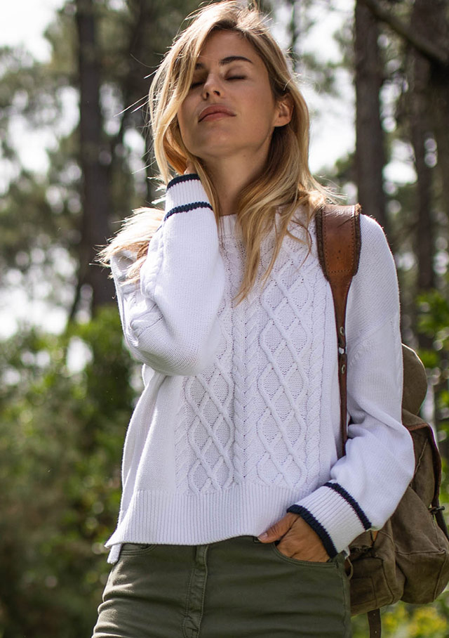 Sweater for women - TREVISE - Saint James
