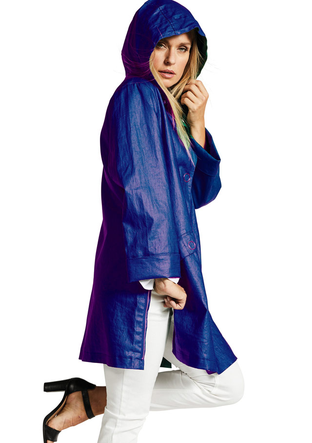 Raincoat for women - BARI - HERLUF