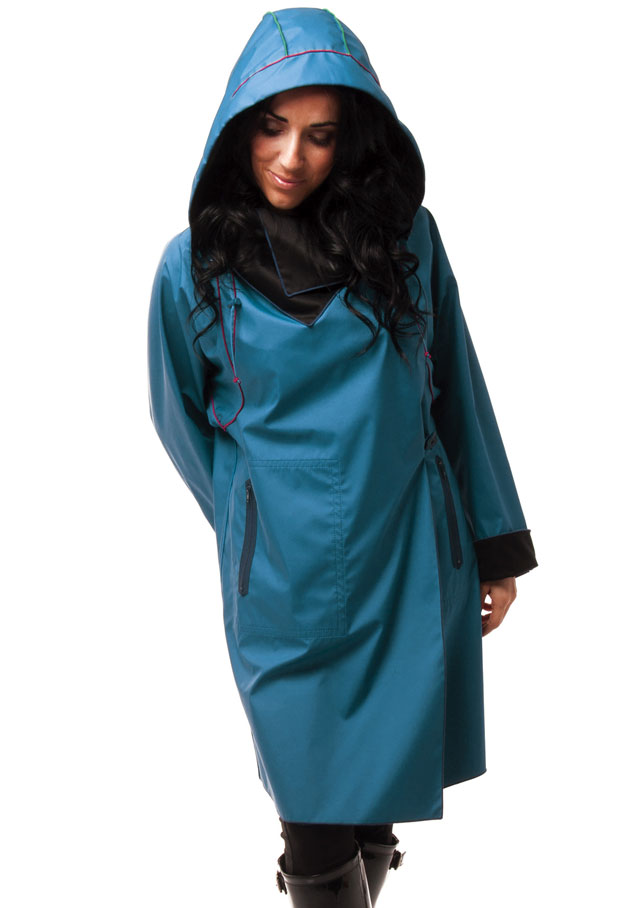 Raincoat for women - REVERSIBLE RAINCOAT - Carmen G.