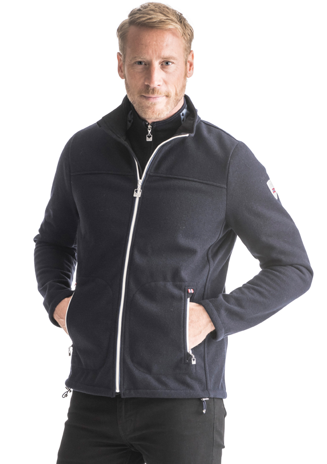 Knitshell / Jacket for men - HAFJELL JACKET - Dale of Norway