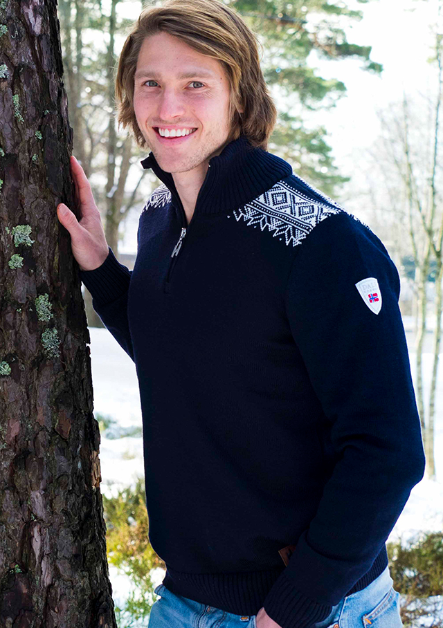 Sweater for men - HOLMENKOLLEN SKI  - Dale of Norway