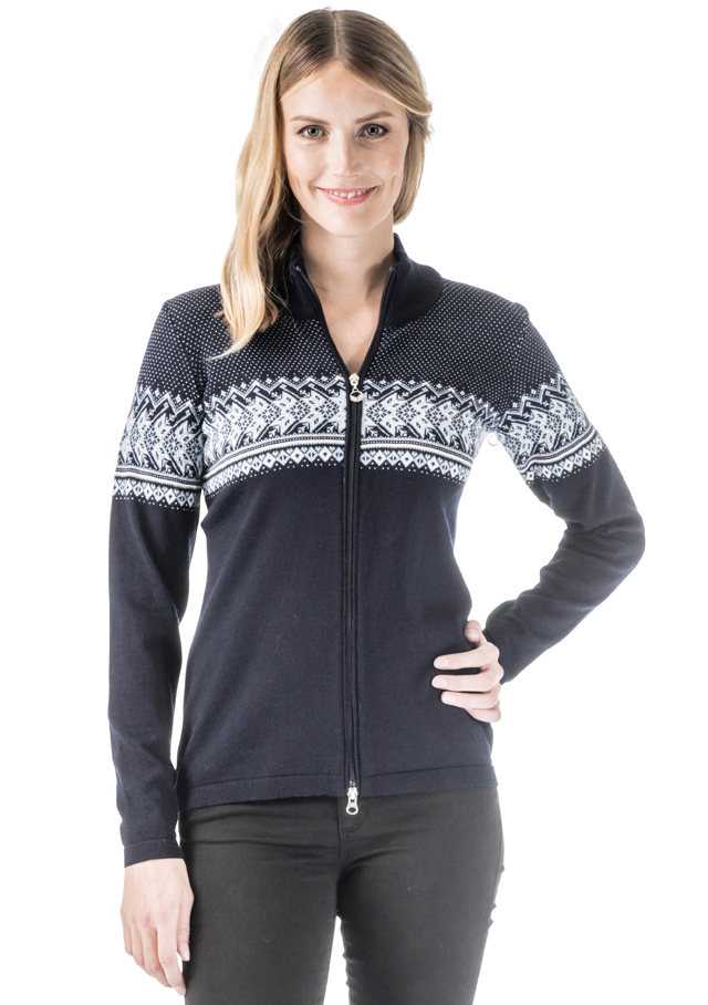 Cardigan for women - HOVDEN JACKET - Dale of Norway