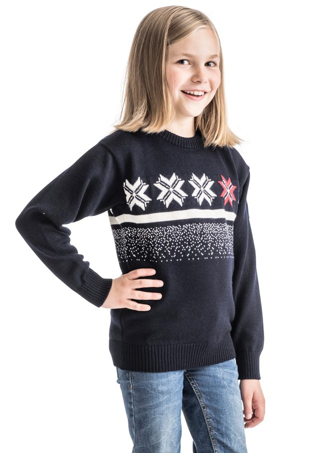 Sweater for children - OLYMPIC PASSION KIDS - Dale of Norway