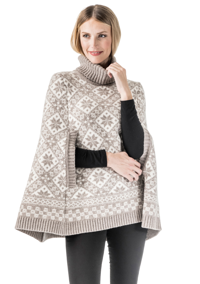 Chandail pour femme - ROSE PONCHO - Dale of Norway