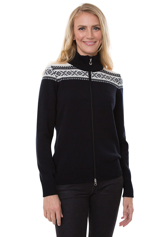 Cardigan pour femme - CORTINA VESTE - Dale of Norway