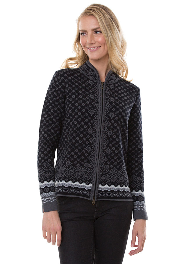 Cardigan for women - SOLFRID - Dale of Norway