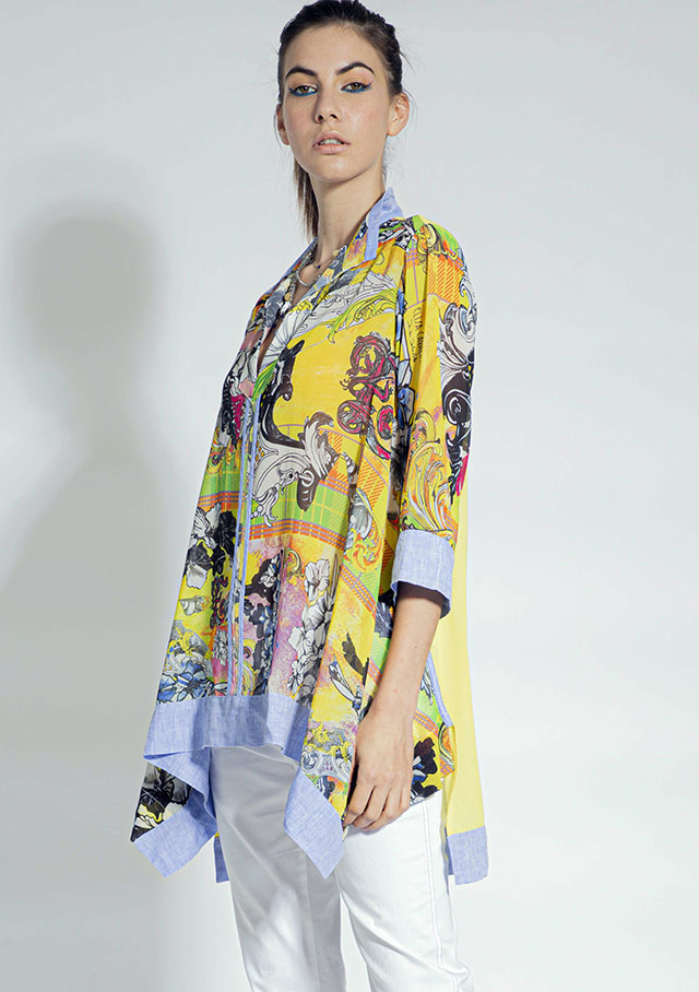 Blouse for women - TUNIC - Elisa Cavaletti