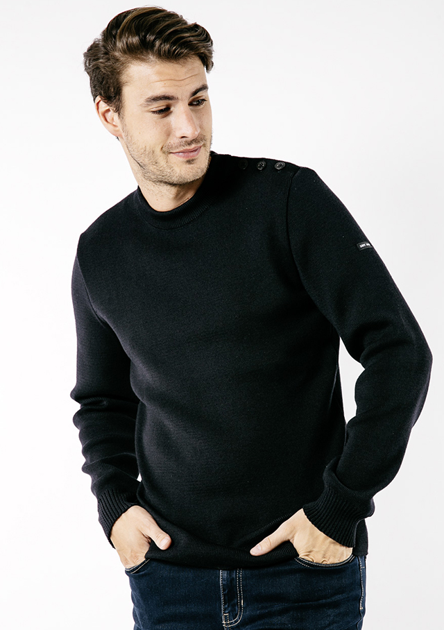 Sweater for men - GALIOTE V U - Saint James