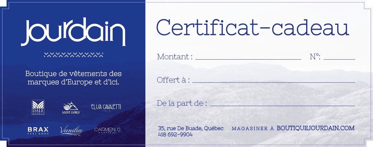 Dale of Norway / Certificatcadeau