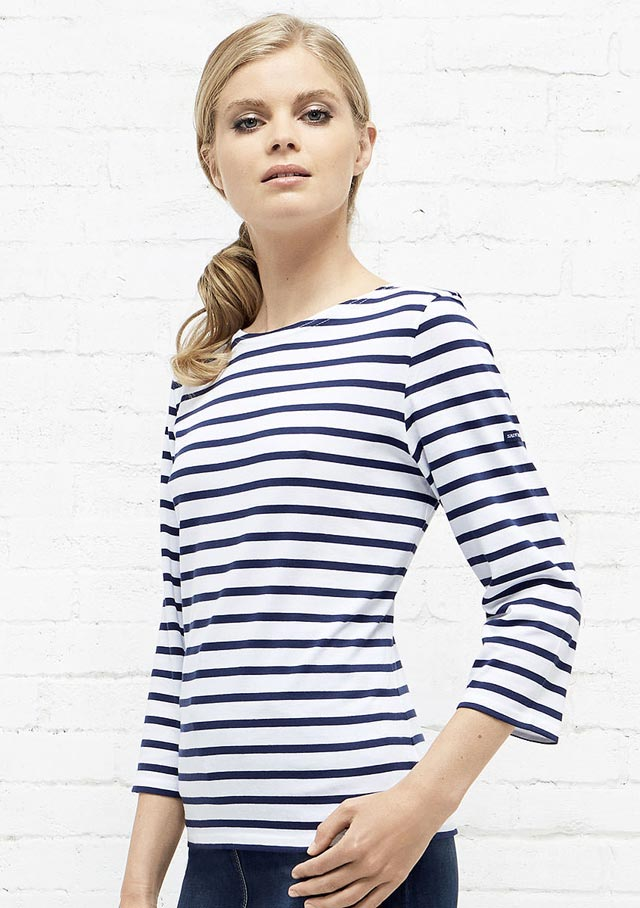 Nautical T-Shirts for women - GARDE COTE III R - Saint James