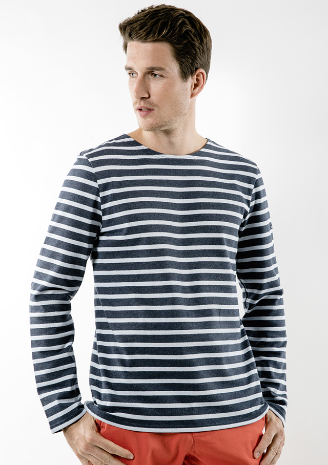 Nautical T-Shirts for men - MERIDIEN MODERNE - Saint James