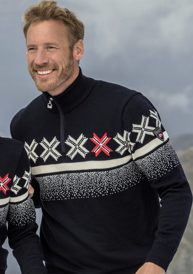 Sweater for men - OLYMPIC PASSION - Dale of Norway