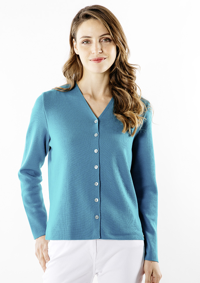 Cardigan for women - BREVANDS IV - Saint James