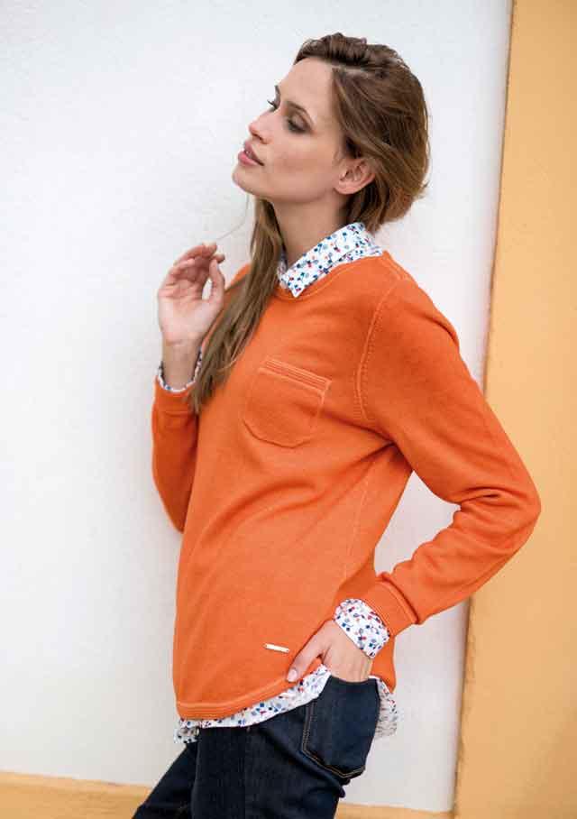 saint james clothing for women available online at jourdain. Black Bedroom Furniture Sets. Home Design Ideas