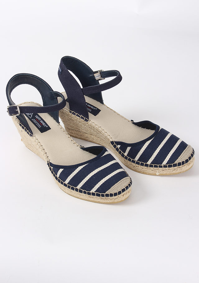 Accessories for women - ESPADRILLE COMPENSEE - Saint James