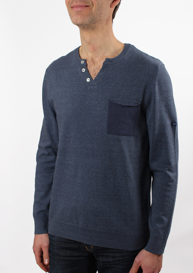 Sweater for men - FARAL - Saint James