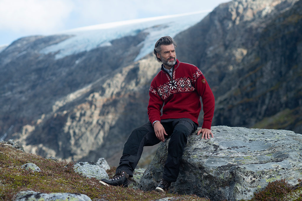 Dale of Norway clothing available online at Jourdain